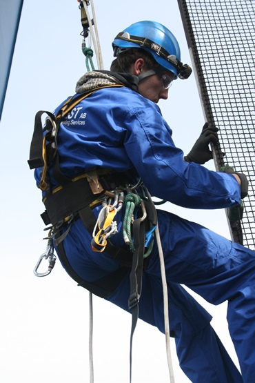 Rope Access (Industriellt reparbete)